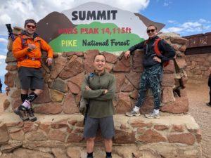Pikes Peak MA Climb