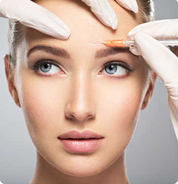 botox injection for woman
