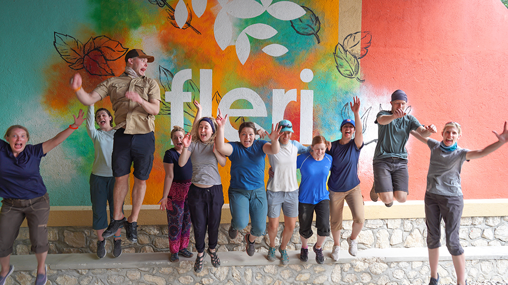 Our annual Haiti trip where we partner with Healing Haiti.