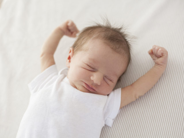 infant sleep study