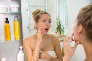 Acne Develop in Teens