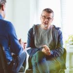 man talking with Psychiatrist In New York