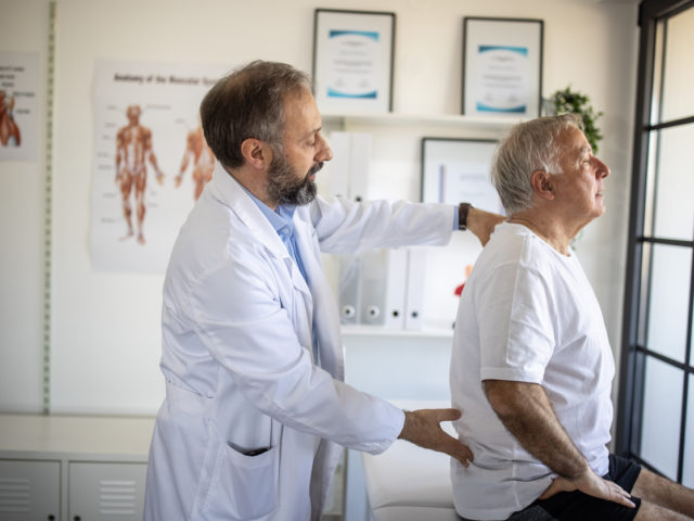 Spine surgery exam