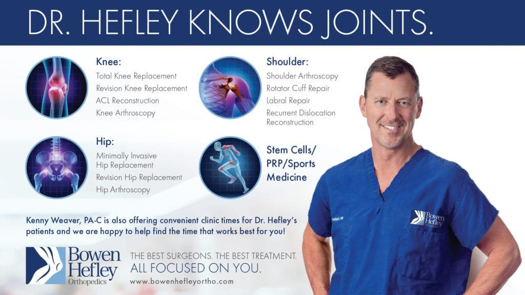 Meet Dr  William Hefley   Orthopedic Surgeon Little Rock, AR