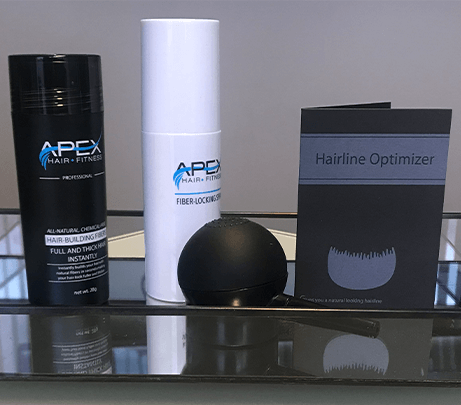 Apex Hair Fibers​ - Thinning Hair treatment - hair growth - Dr. Robert Niedbalski - Hair Transplant Surgeon - Hair Transplant - hair loss - PRP therapy - Dr. Niedbalski - hair restoration - stem cell therapy - Northwest Hair Restoration - Follicular Unit Transplants  - Follicular Unit Excision