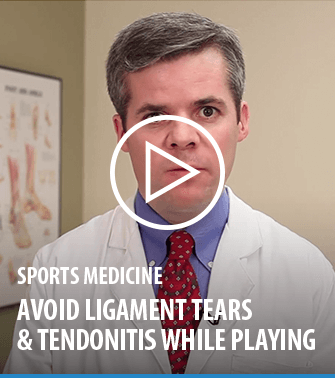 Avoid ligament tears and tendonitis while playing soccer | Dr. Scott Adams