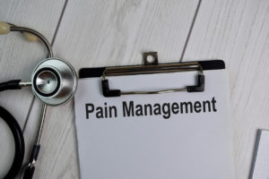 Pain management graphic