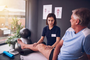 therapy necessary for knee replacement