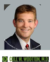 Cole W. Wootton, MD