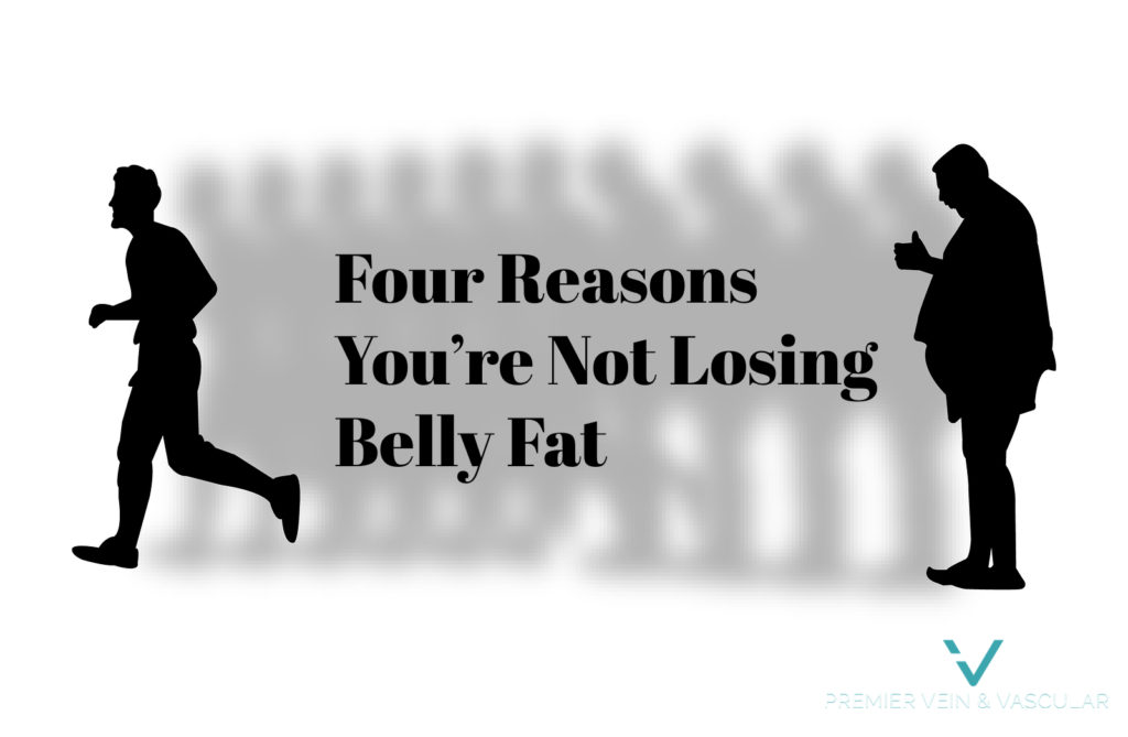 four reasons youre not losing belly fat - premier vein and vascular tampa largo flroida trusculpt