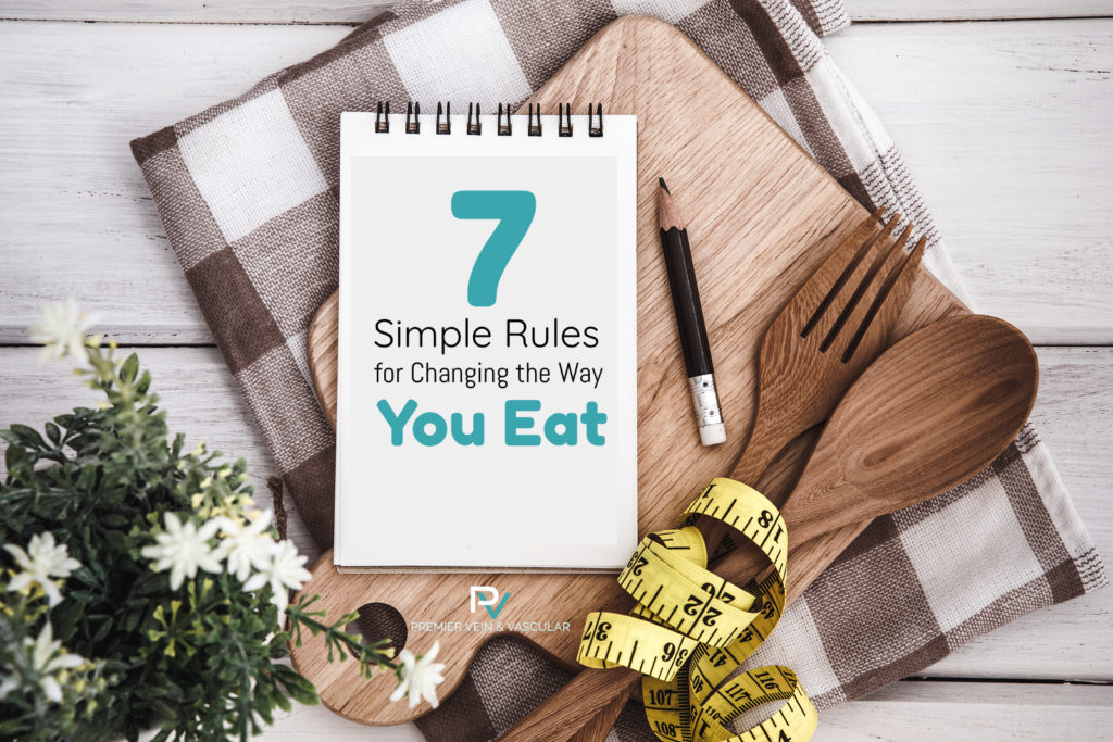 7 simple rules for dieting - premier vein and vascular - tampa and largo