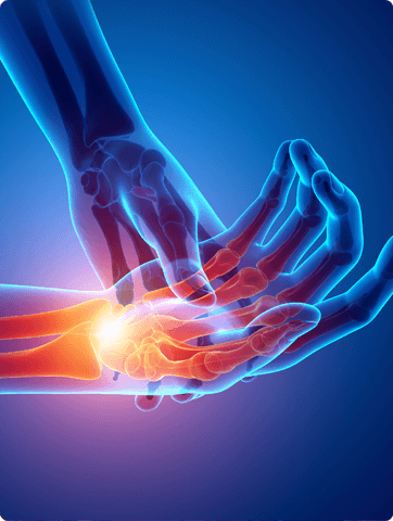 Center for Orthopaedic Surgery and Sports Medicine - bone fractures - orthopedic surgeon - Wrist fractures - Finger and thumb fractures - Shoulder fractures - Hip fractures - Ankle fractures - Foot fractures - Knee fractures