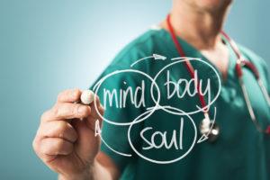 Natural healing center approach