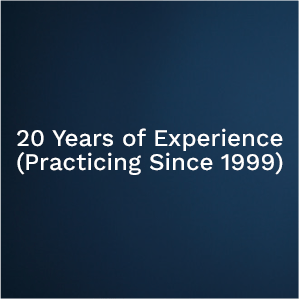 20 Years Experience - Dr. Louis Iorio