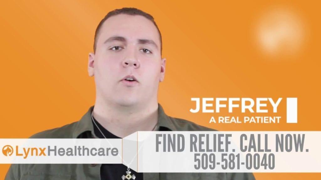 Patient Testimonial - Lynx Helps Heroes: Jeffrey
