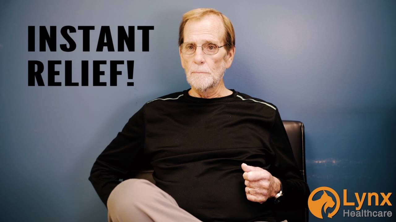 Patient Testimonial - Instant Relief!