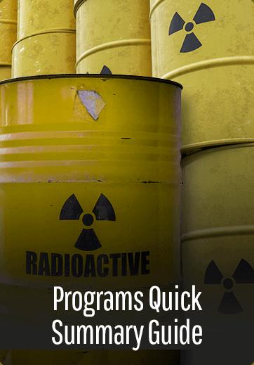 Programs Quick Summary Guide