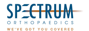 Spectrum Orthopaedics recently redesigned their practice blog to include more ways for patients to interact with our office - Spectrum Orthopedics