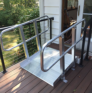 Handicap Ramps Installation - Live In Place - Northern VA, MD, & DC