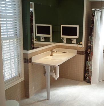 Elderly and Handicap Bathrooms - Live In Place - handicap accessible - handicap showers