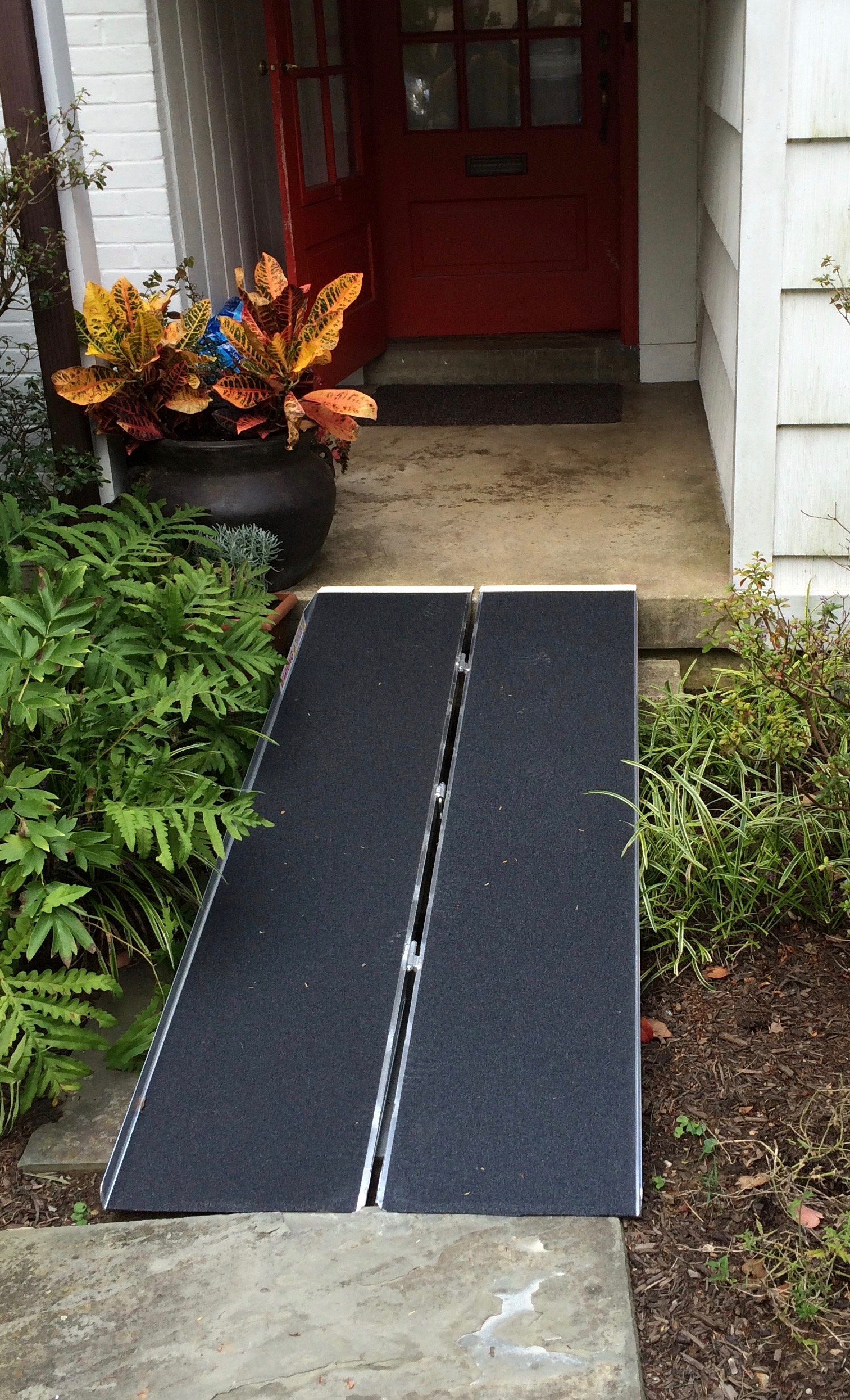 Wheelchair Accessible Entrance Modifications - Live in Place - Sterling, VA - wheelchair ramps - stair lift