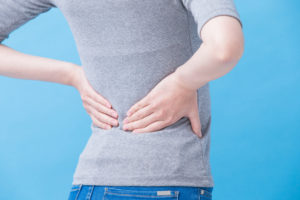 breast reduction, back pain