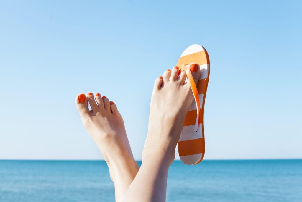 flips vs. sandals
