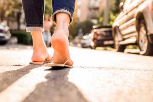 Flip Flop Injury