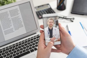 Mental Health Benefits from Telemedicine