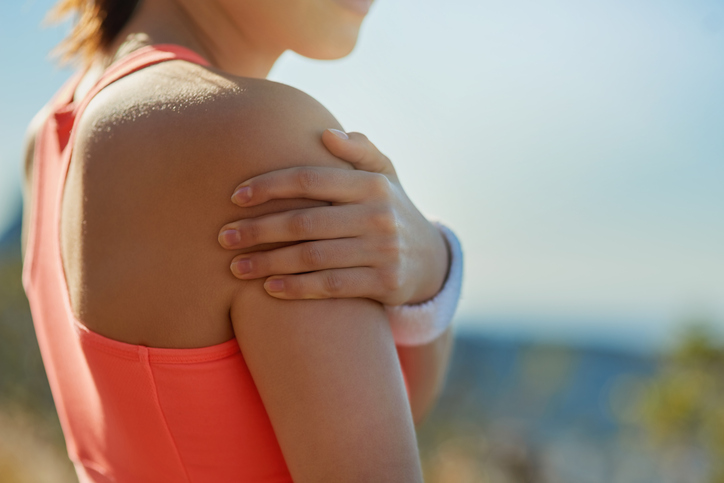 Shoulder injuries can really inhibit your movements