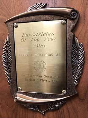 Bariatrician of the Year 1996
