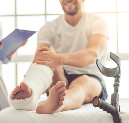 ankle fractures - fractured ankle - broken ankle - foot fracture - podiatrist san antonio - Podiatrist San Antonio, TX - foot doctor