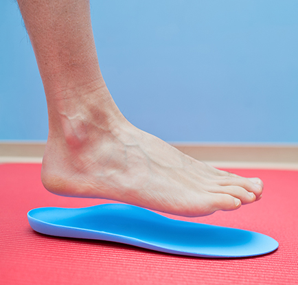 Orthotics - Custom Orthotics - Flat Feet - Plantar Fasciitis - Foot Doctors San Antonio - podiatrists