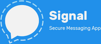 Signal Secure Messaging App