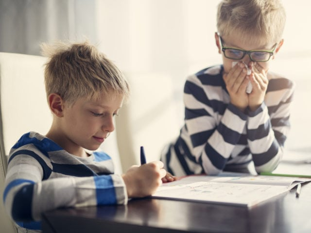 10 Common Illnesses Kids Pick Up in School