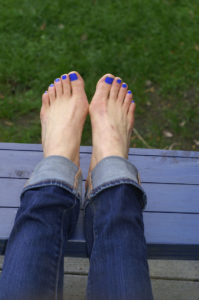 Two Feet with Bunions