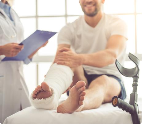 Broken Bones - Broken Fractures - orthopedic surgeon near me - Orthopedic Doctor plano tx - Advanced Orthopedics - Dr. Michael Taba