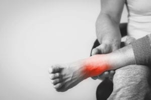 foot pain - ankle pain