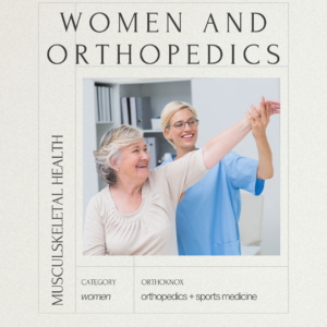 orthopedic doctor treating female patient