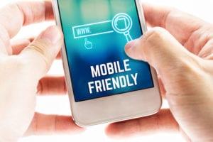 mobile friendly website - medical website design
