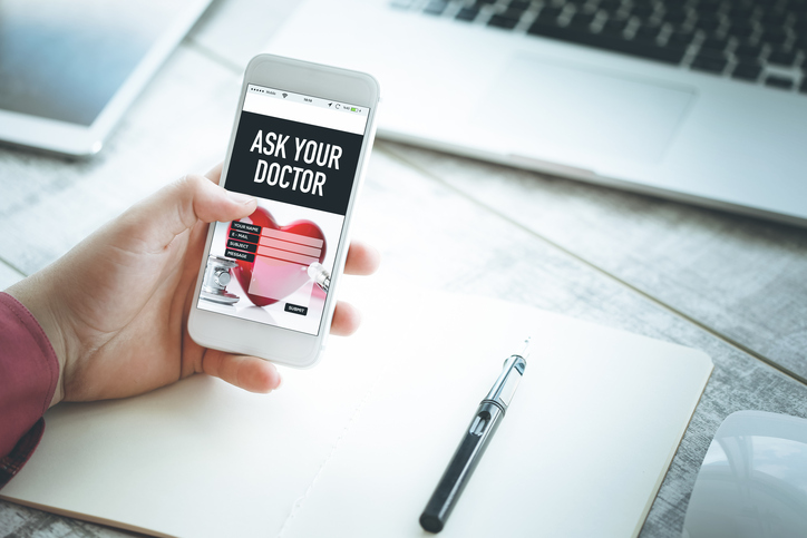 Website for doctors - mobile friendly website
