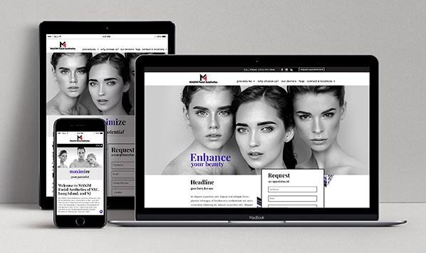 medical website design by iHealthSpot