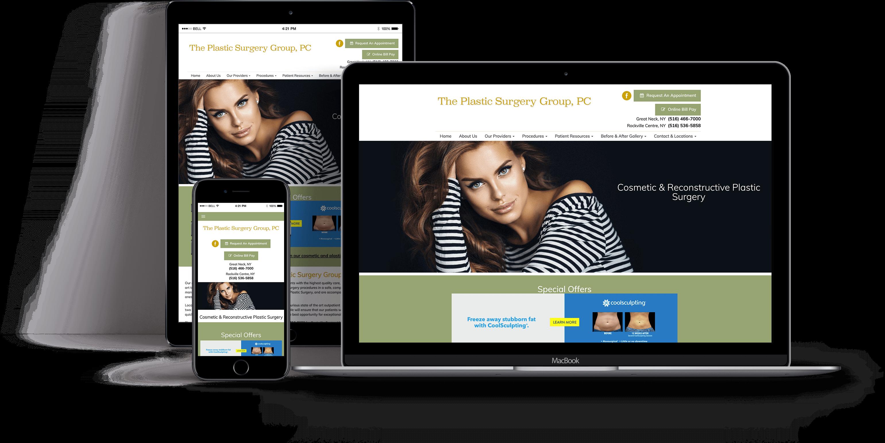 Website Design for OBGYN - iHealthSpot Interactive - healthcare digital marketing