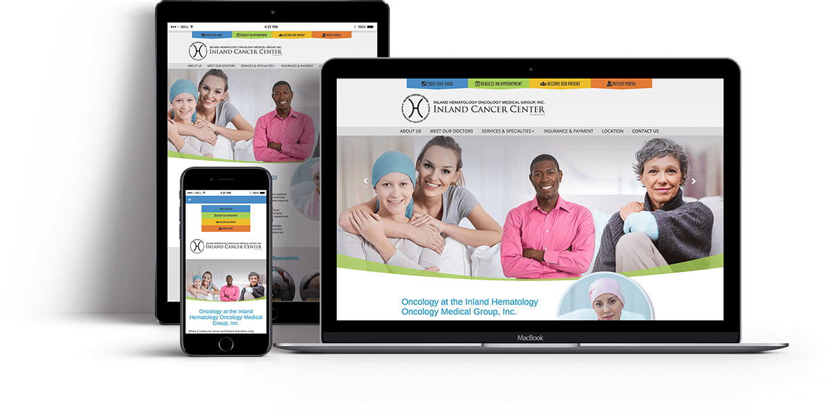 Website Design for OBGYN - Websites for Oncology  - iHealthSpot Interactive - healthcare digital marketing