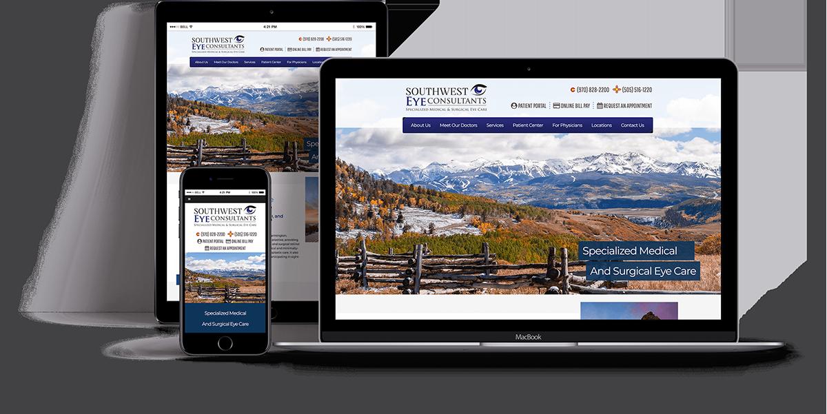 Website Design for OBGYN - Websites for Ophthalmology - iHealthSpot Interactive - healthcare digital marketing