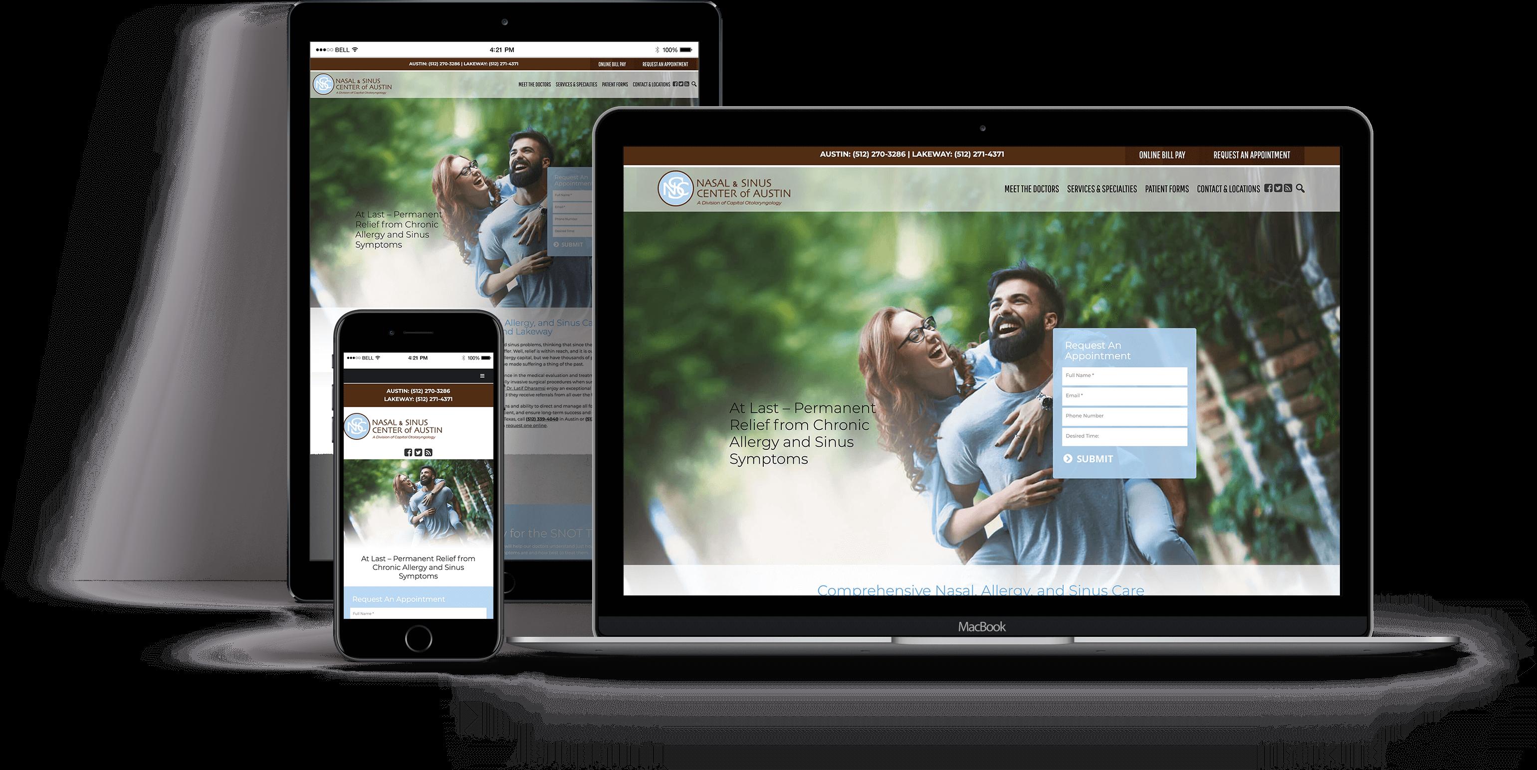 Website Design for OBGYN - Websites for ENT Practices - iHealthSpot Interactive - healthcare digital marketing