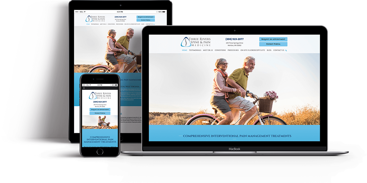 Website Design for OBGYN - Websites for Pain Management Doctors - iHealthSpot Interactive - healthcare digital marketing