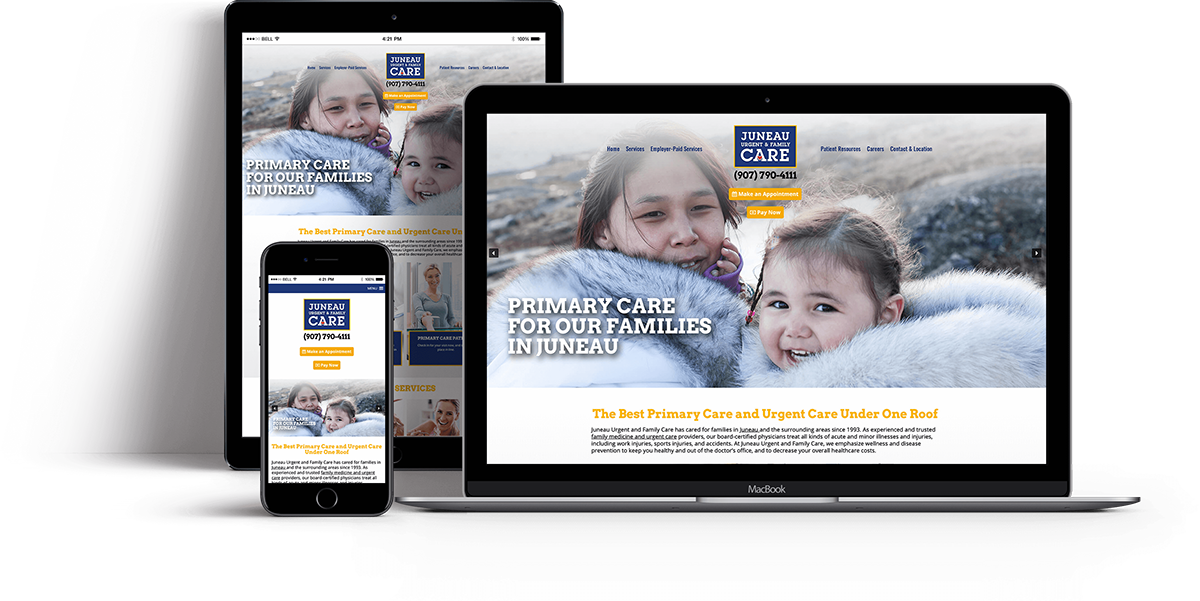 Website Design for OBGYN - Websites for Urgent Care Clinic - iHealthSpot Interactive - healthcare digital marketing