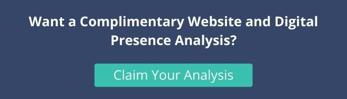 Claim your Complimentary Website Analysis CTA Graphic