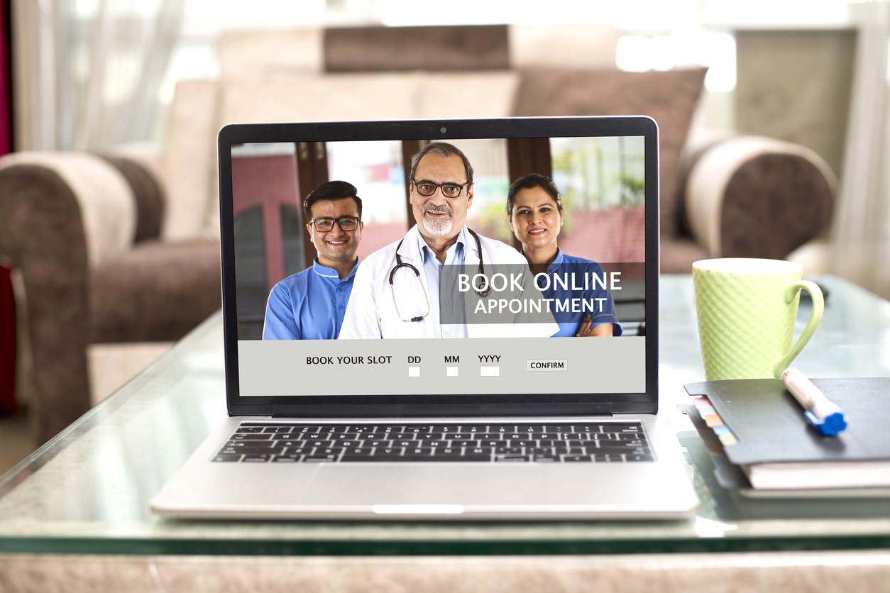 medical website book online appointment with doctors